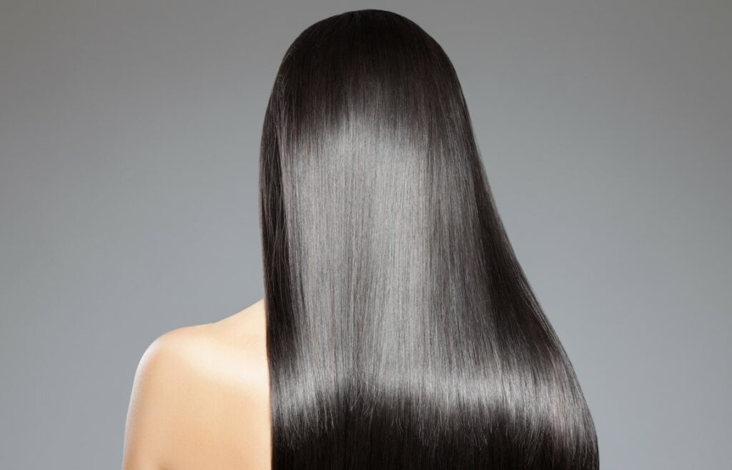 Silky hair