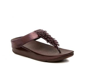 FitFlop - wedge sandal with beaded thong summer accessories