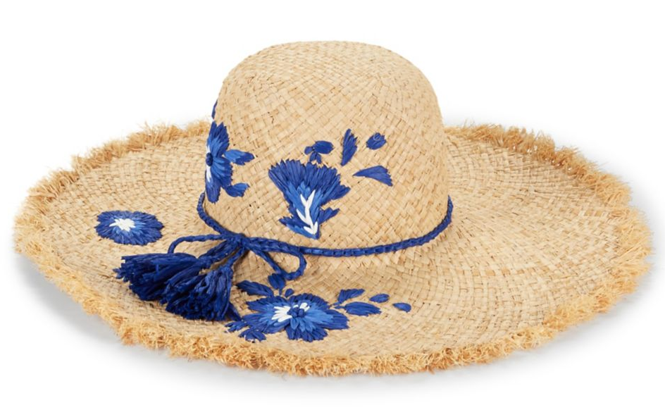 Kate Spade NY Embroidered Hibiscus