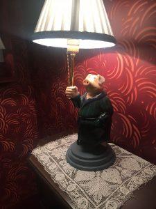 la lampe cochon Amélie Poulain