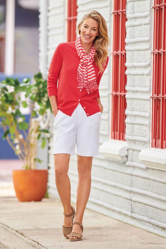 Lands End Knit Shorts