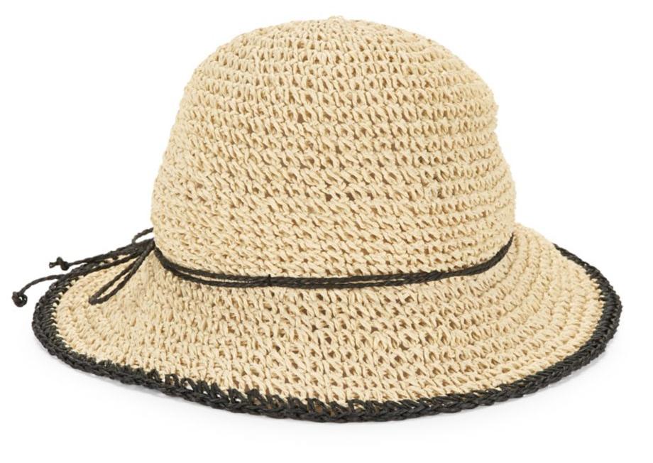 Laurenby RL Packable Crocheted Cloche