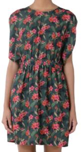 Molly Bracken Tropical Floral Print Dress