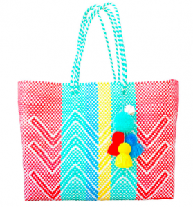 recycled plastic beach bag summer accessories