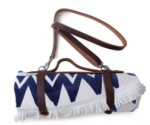 Carry the summer accessories you already have like a beach blanket