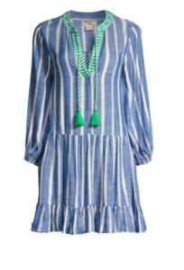 Shoshanna Sailor Stripe Tunic Cover-Up
