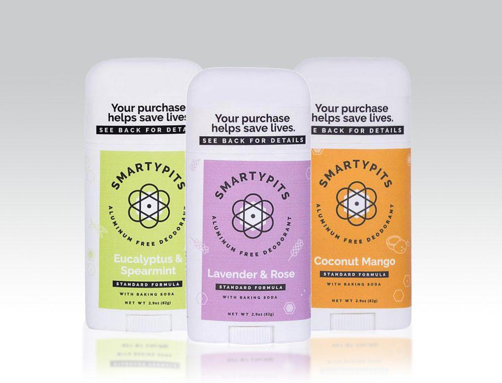 natural deodorants smartypits