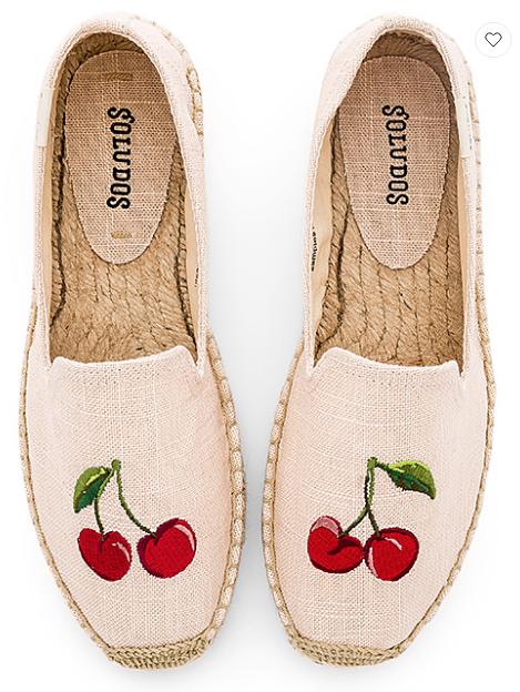 Soludos Cherries Smoking Slipper