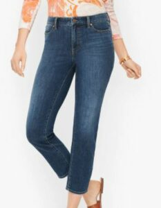 Talbot Straight Leg Crop Jeans