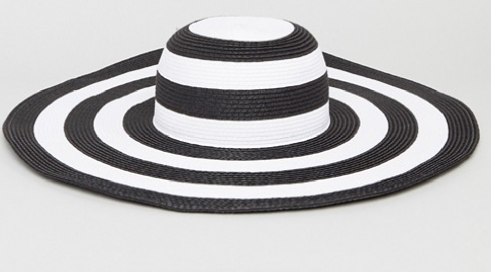 Vero Moda Wide Brim Straw Hat