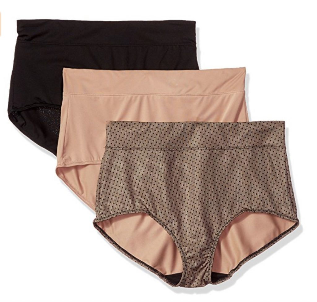 Warner's Blissful Benefits No Muffin Top 3-Pack Brief