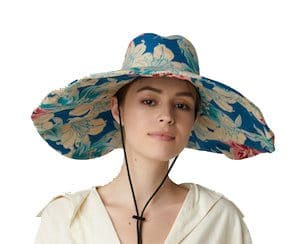 tropical fabric etro sn hat summer accessories