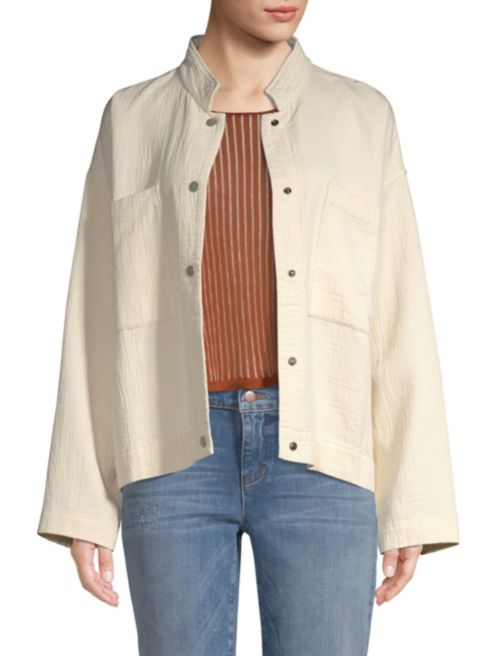 Mandarin Collar Jacket