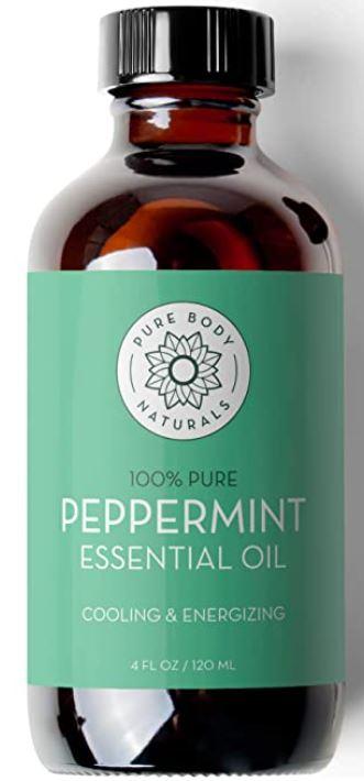 Pure Body Naturals Peppermint Essential Oil