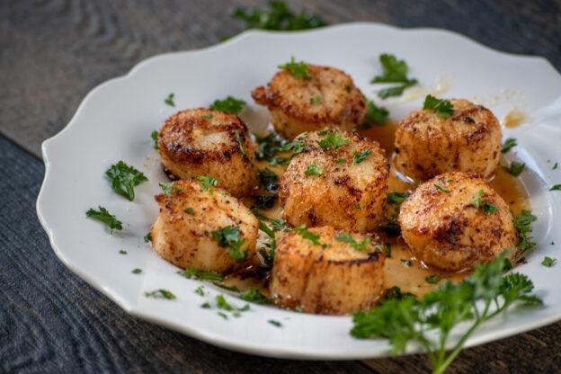Sea scallops recipe