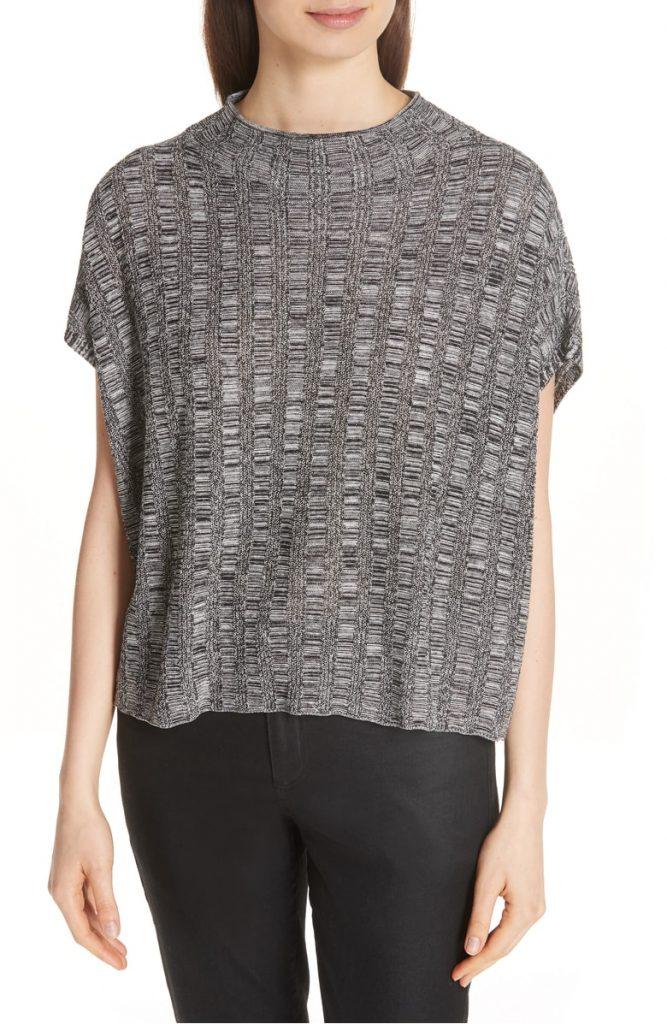 Silk & Organic Linen Sweater