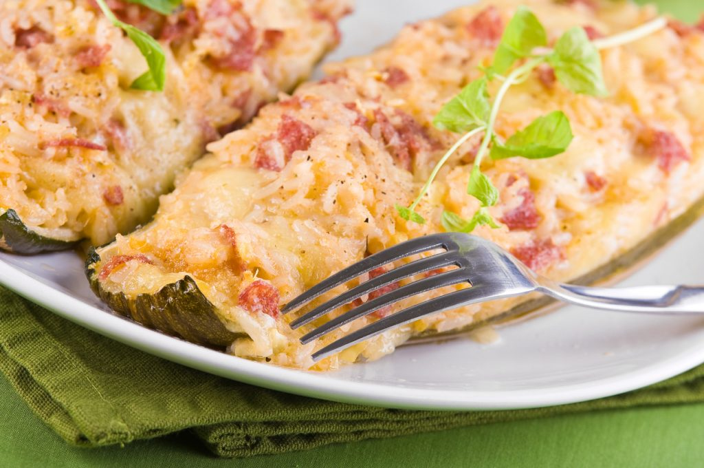 Stuffed Zucchini Feature
