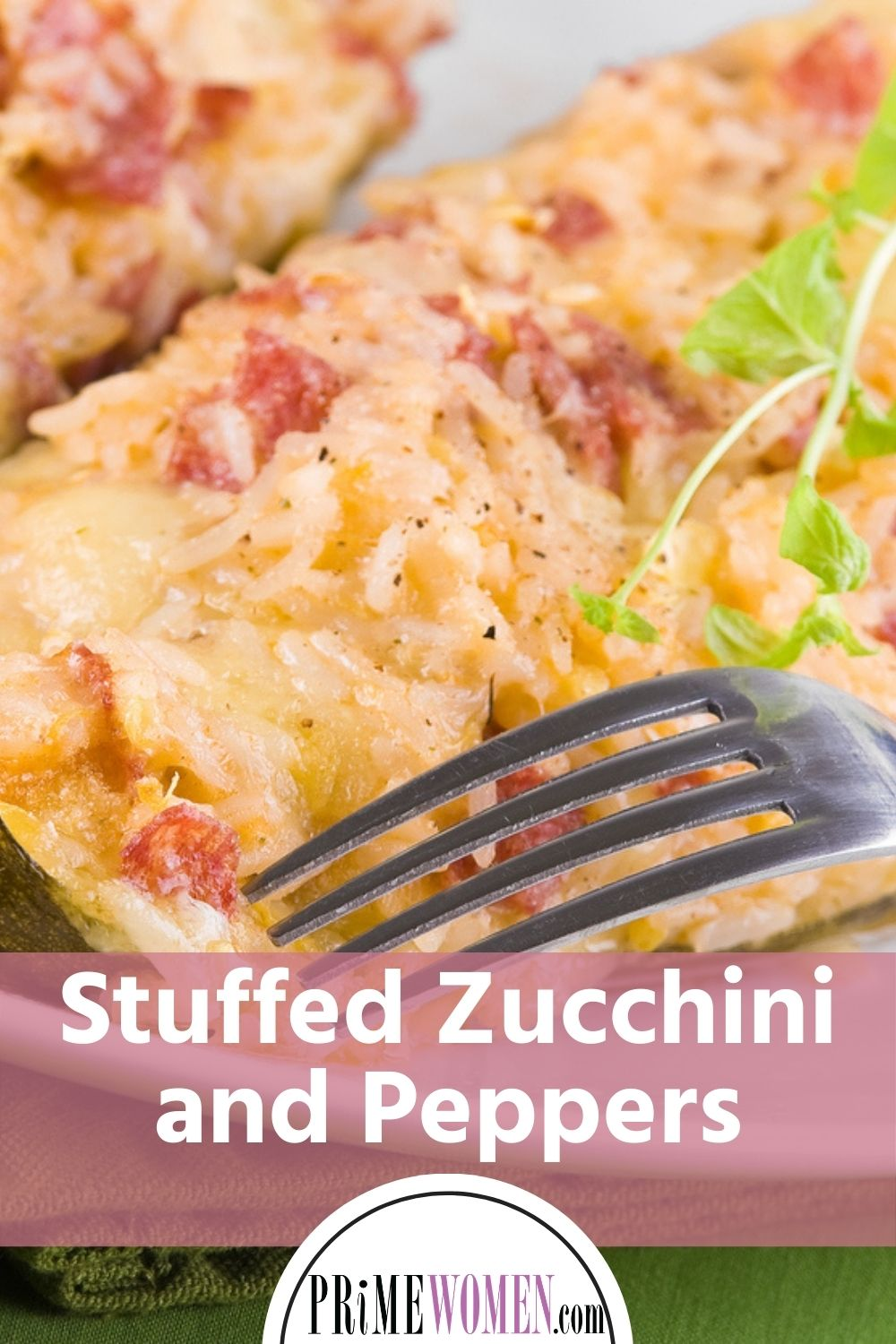 Stuffed Zucchini and Peppers Recipe