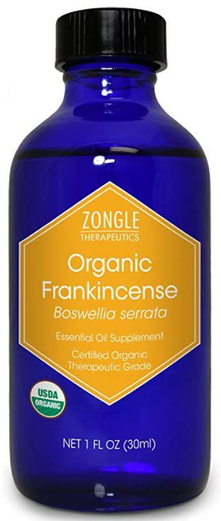 Zongle Therapeutics Organic Frankincense Essential Oil