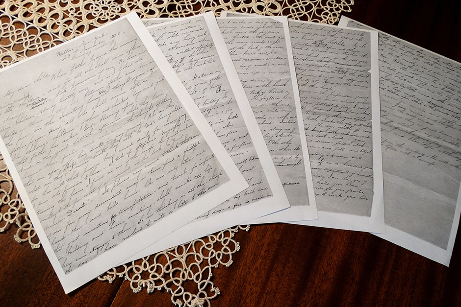 historic letters