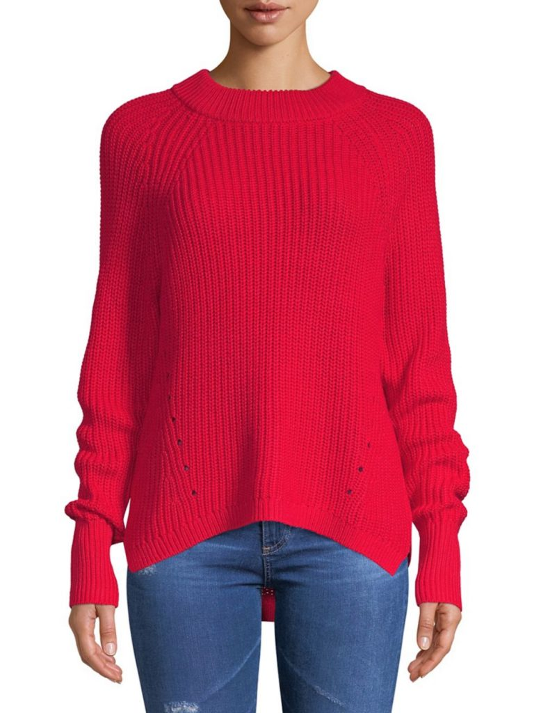 Lord & Taylor Hi-Low Sweater