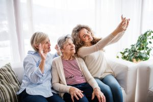 Multiple Generations of Women
