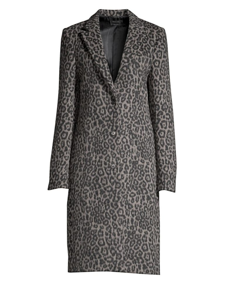 RTA Jameson Leopard Coat