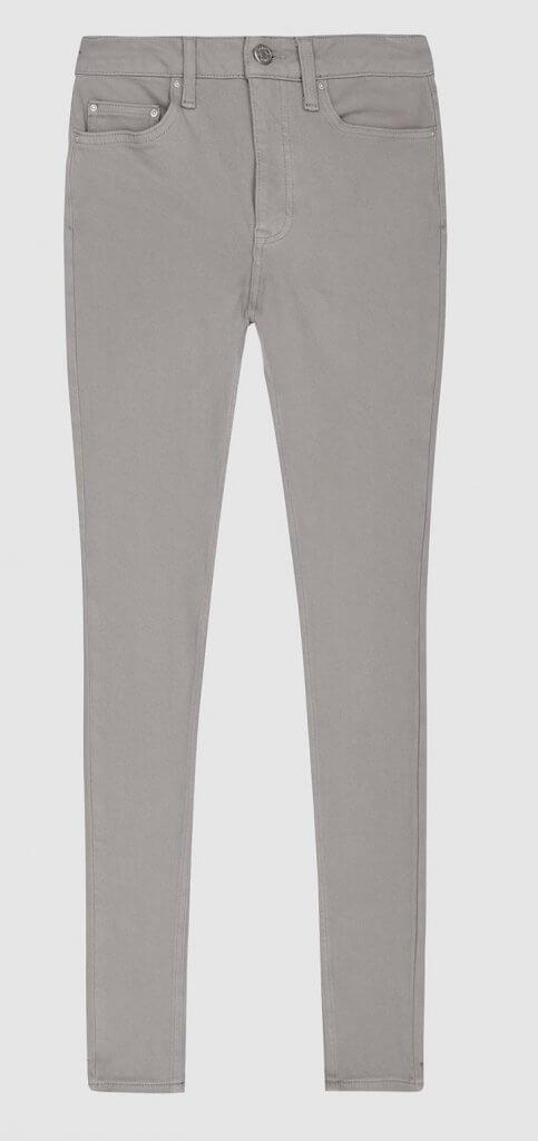 Skye Bi-Stretch High Rise Skinny Jeanslight Grey