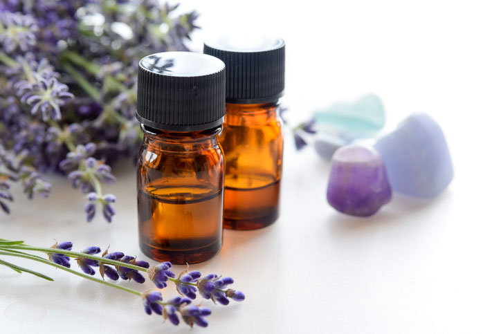 Use essential oils to help with restless leg syndrome cause by menopause