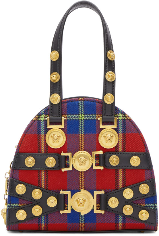 Versace Tartan Tribute Bag