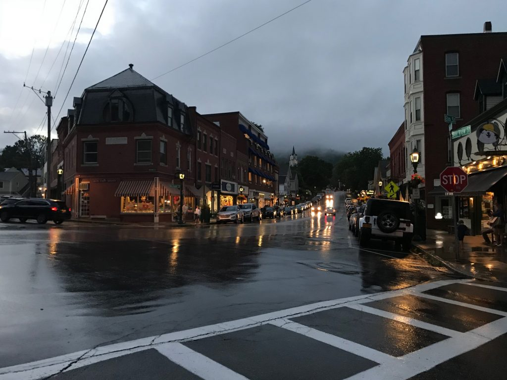 Camden, ME Rainy Summer Eve
