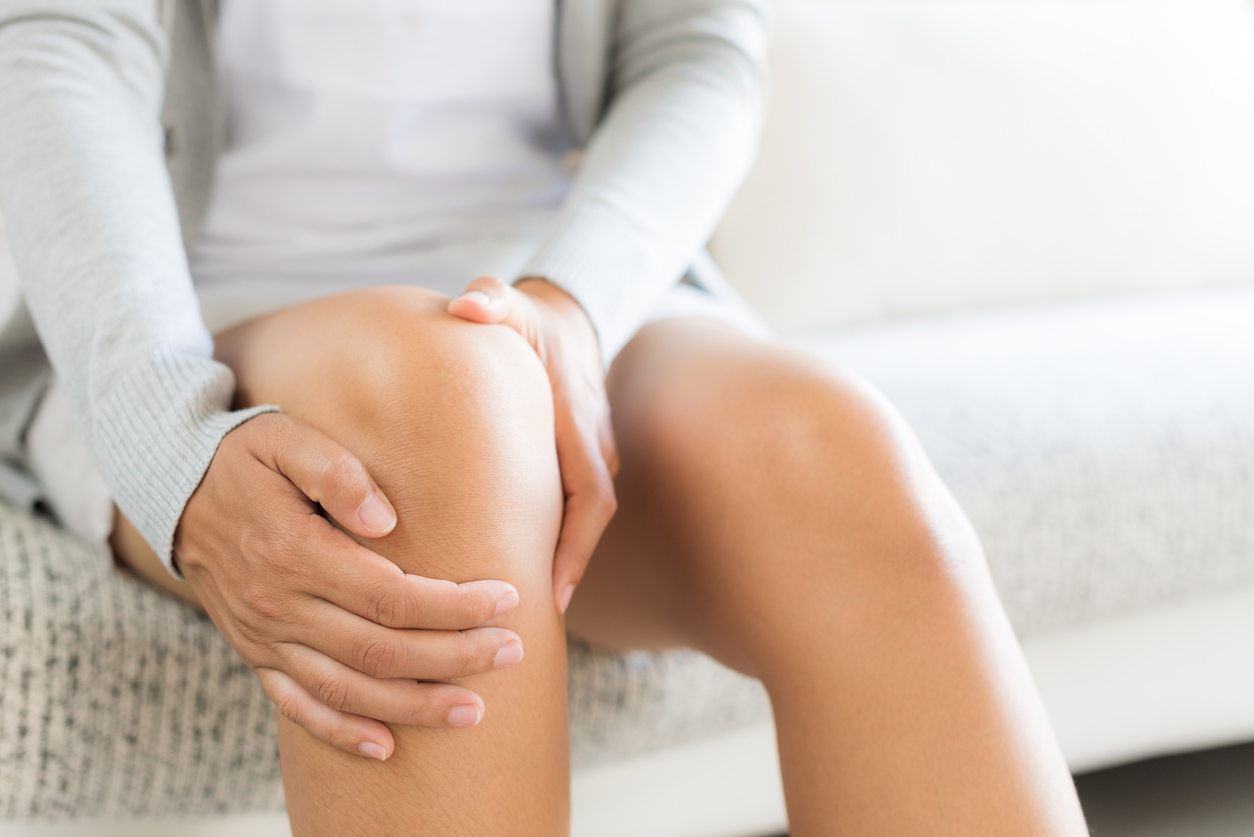 Coping with knee pain