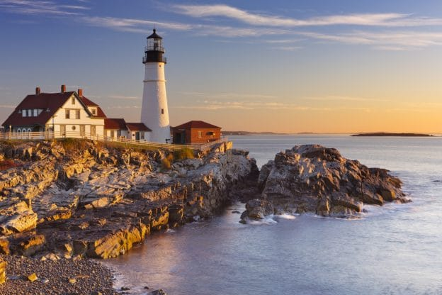 Maine Coast Feature