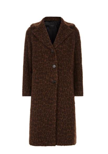 Max Mara Leopard Coat