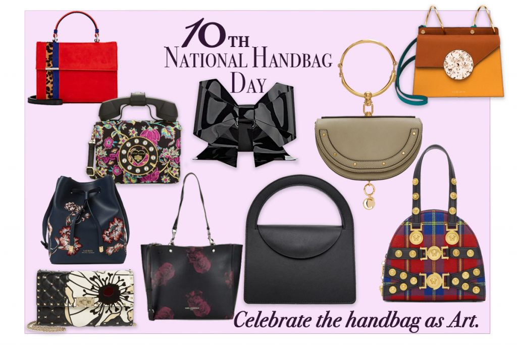 Oct FashionAgenda-October 10th National Handbag Day