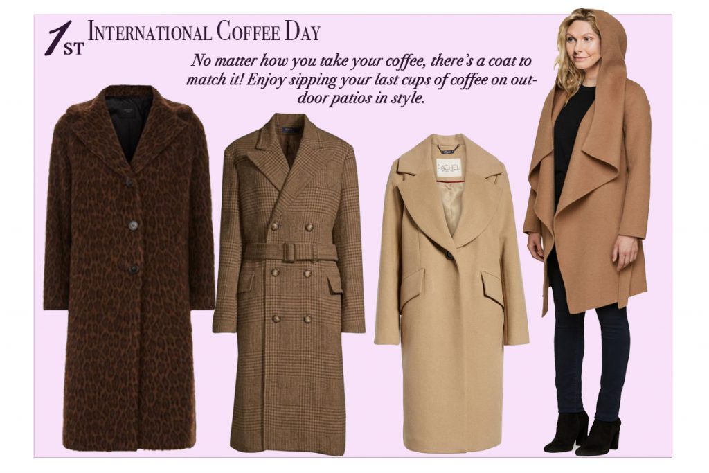 Oct FashionAgenda-Oct 1 International Coffee Day