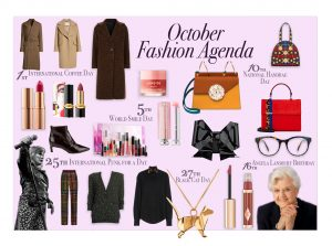 October Fashion Agenda