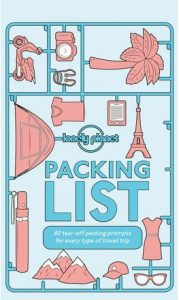 Packing list Lonely PLanet