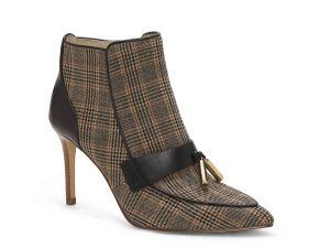 Plaid Booties for Women over 50