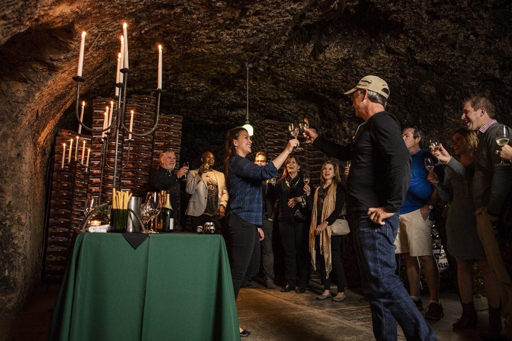 Schramsberg Cave Tasting 4