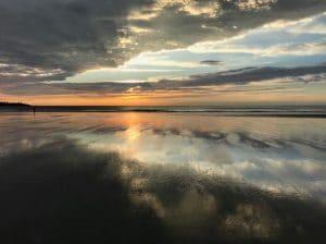 Sunrise Long Sand Beach York