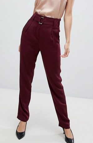 YAS Belted HiWaist Trouser