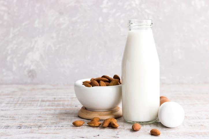Try almond milk instead of cow's milk