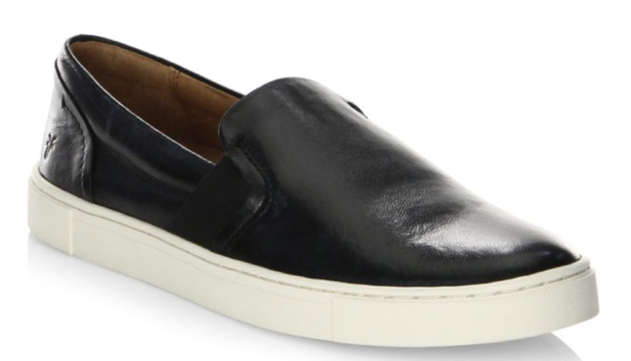 Frye Ivy Slip-On Leather Sneakers