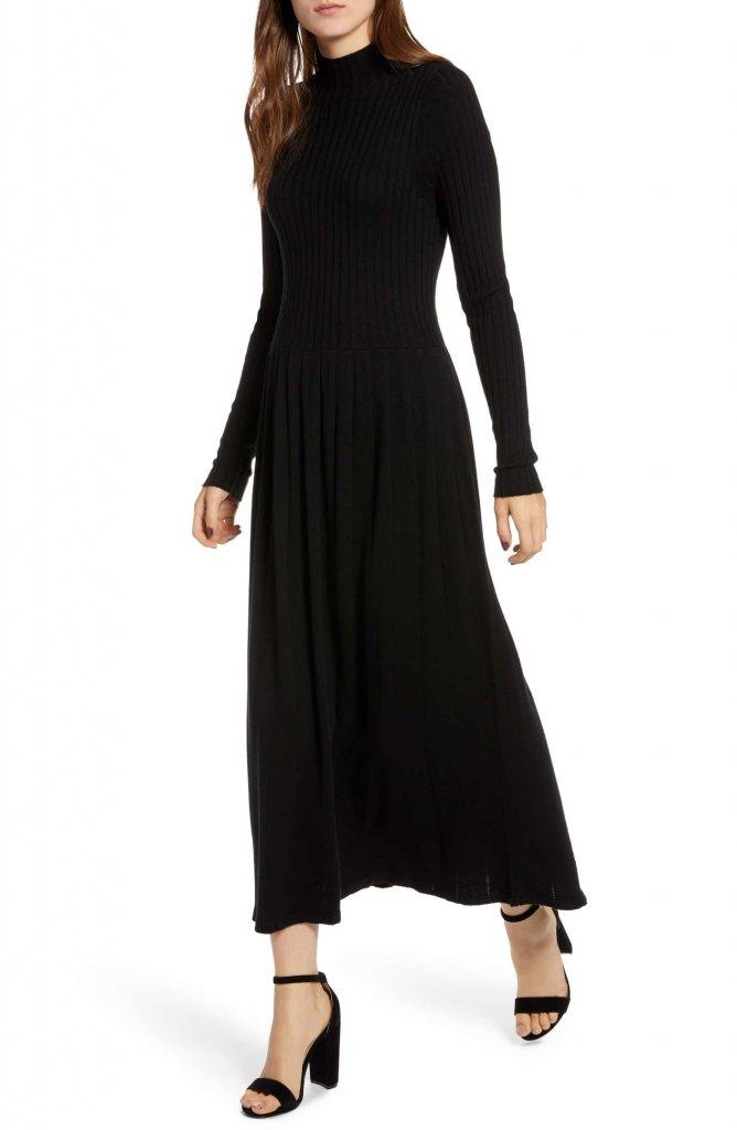 Hinge Maxi Sweater Dress