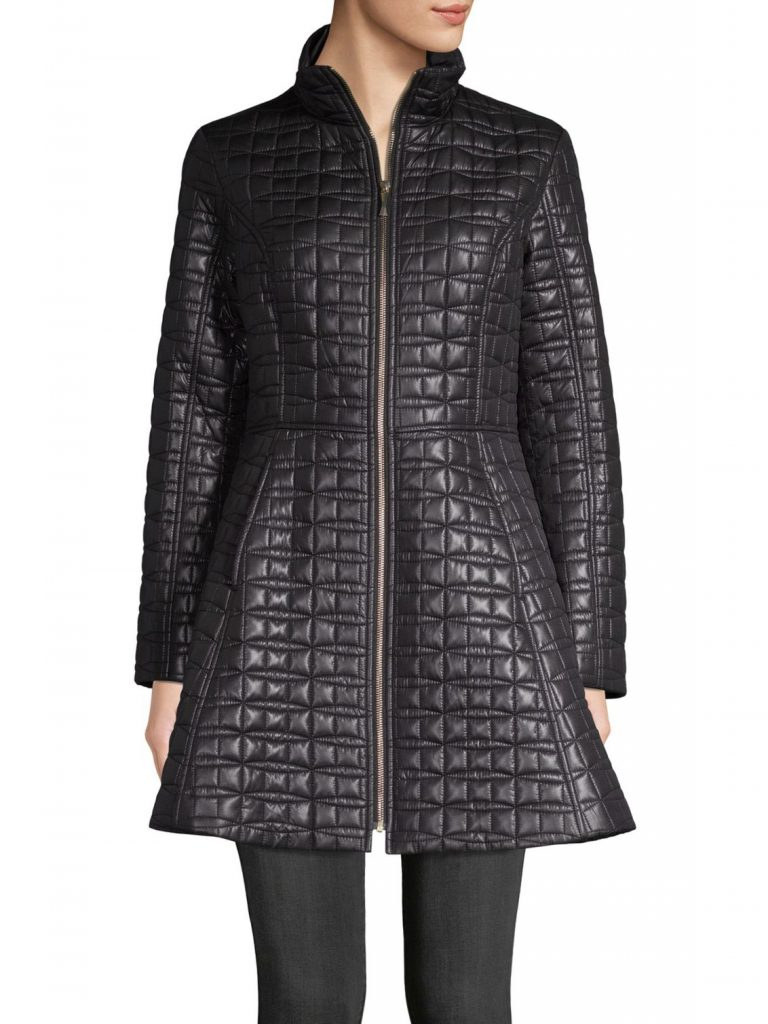 Kate Spade Quilted Statement Coat