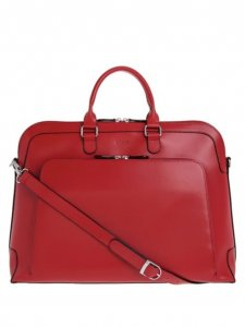 Lodis Audrey Under Lock and Key Brera Leather Briefcase