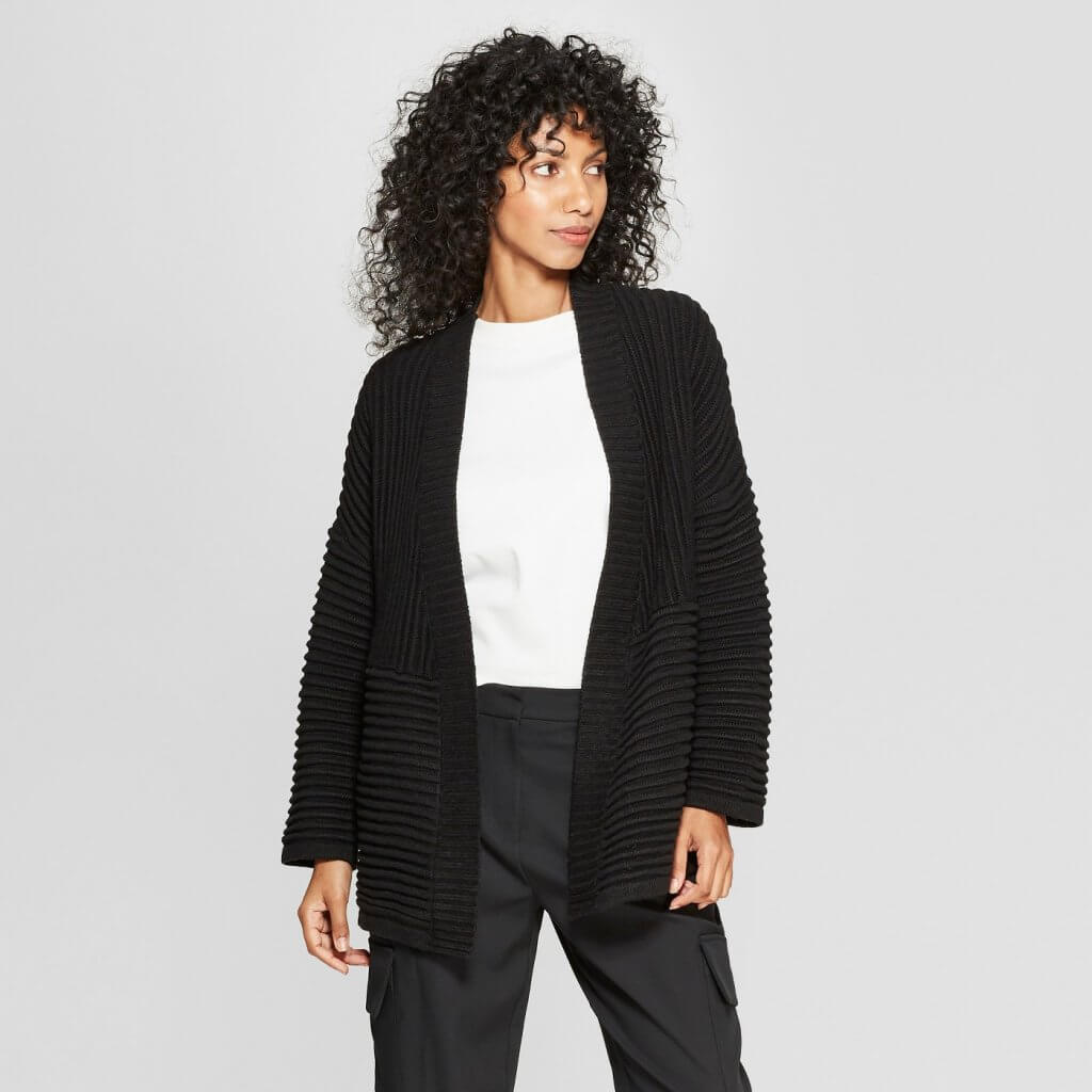 Long Sleeve Stitch Mix Cardigan
