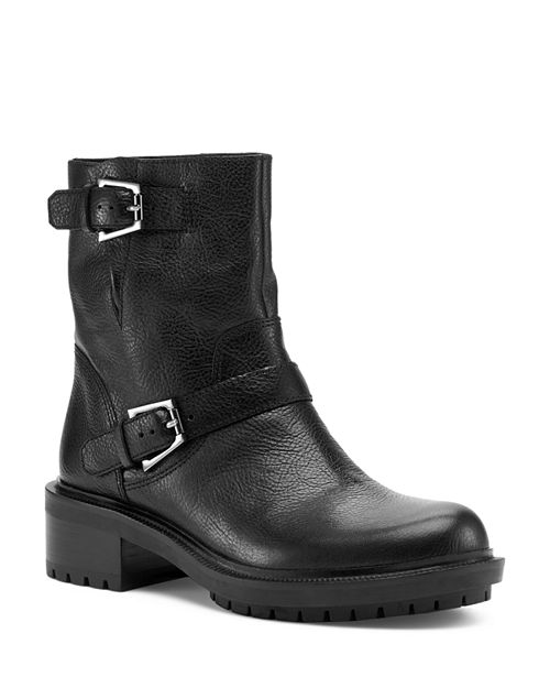 Botkier, Women's Marlow Leather Moto Boots