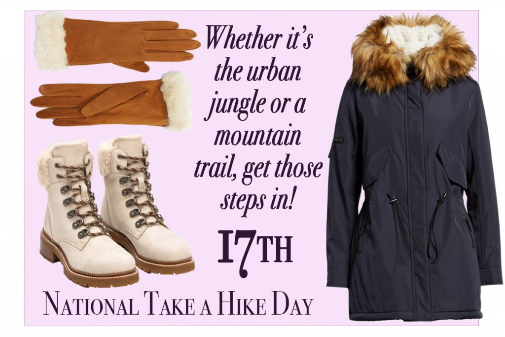 November 17-National Take A Hike Day